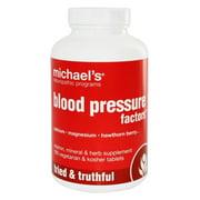 Michael's Naturopathic Programs - Blood Pressure Factors - 180 Vegetarian Tablets