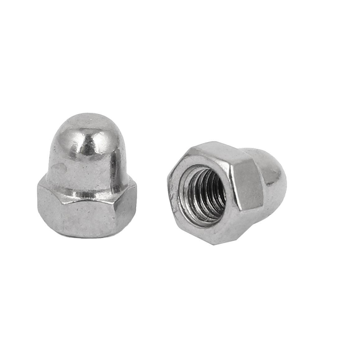 M5 Thread Dia 304 Stainless Steel Dome Shape Head Cap Acorn Hex Nut 25pcs - image 1 of 2