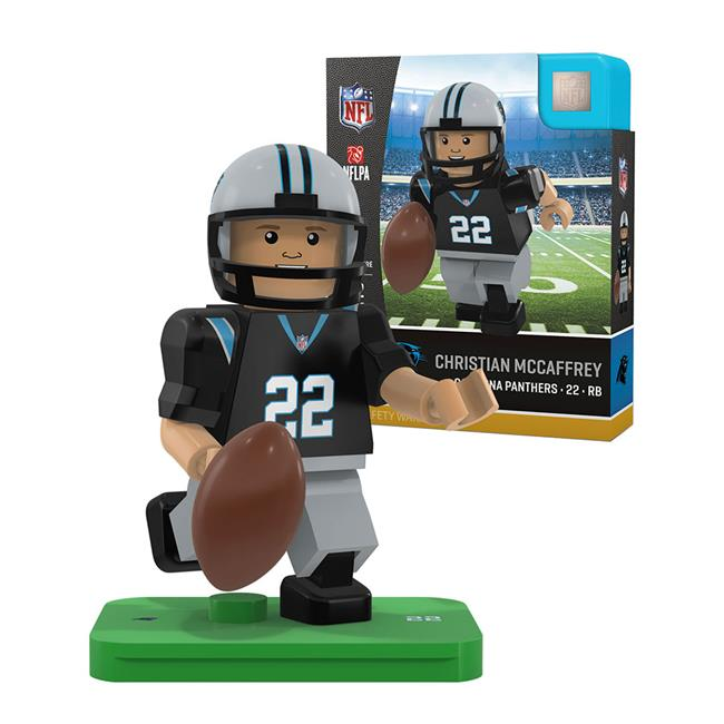 OYO Sports P-NFLCAR22-G4LE Carolina Panthers Christian Mccaffrey NFL Minifigure