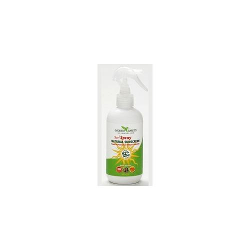 Natural Sunscreen Spray SPF 30 Goddess Garden 8 oz Spray