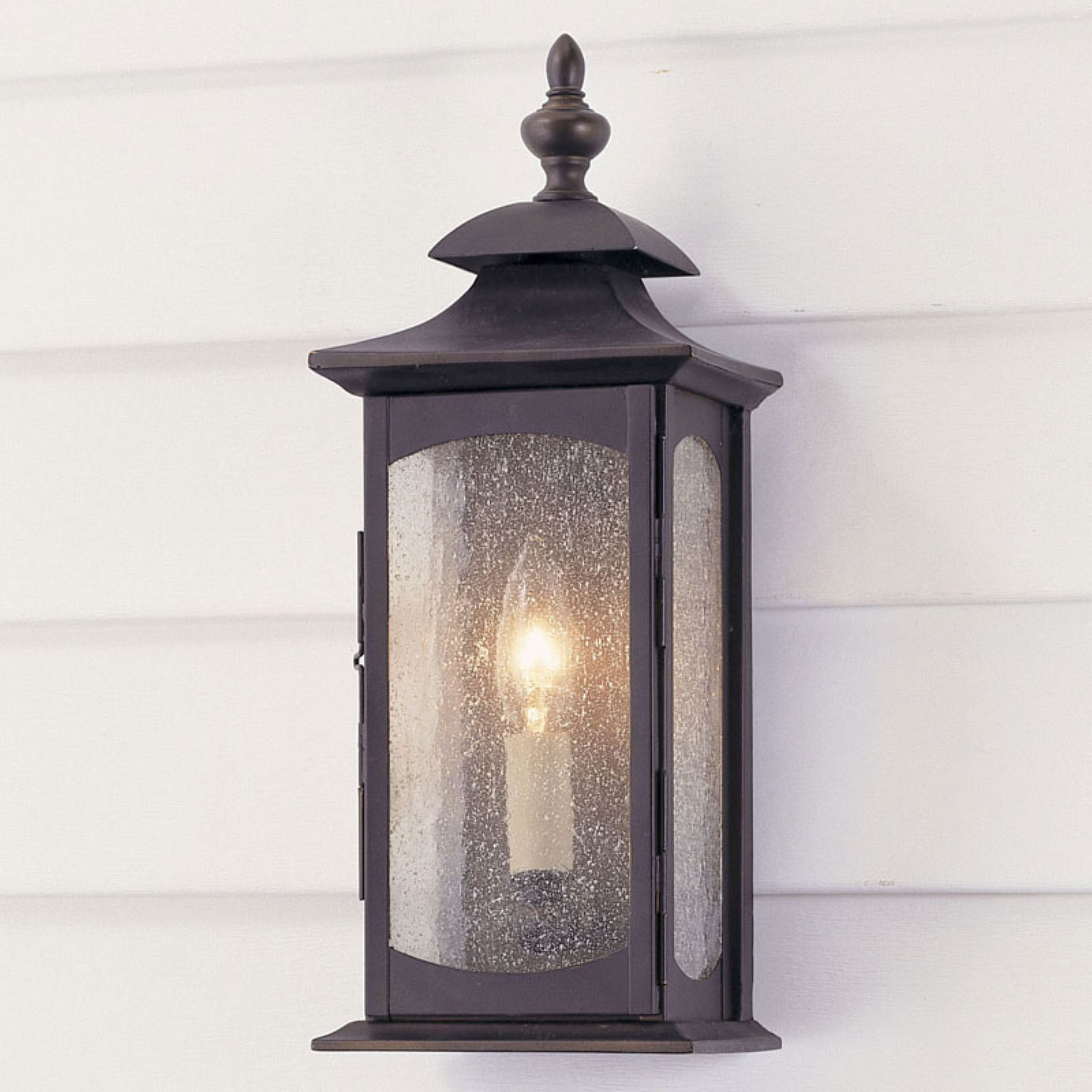 Feiss Market Square Outdoor Wall Lantern - 14H in. Oil Rubbed Bronze