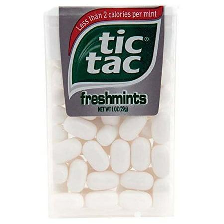 24 Pack- Tic Tac Freshmint 1oz Each (Blue Tic Tacs)