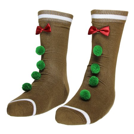 Ugly Stuff Holiday Supply Co. Adult Ugly Christmas Socks- Crew