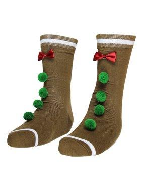 5b83e1e24 Adult Ugly Christmas Socks- Crew. Bioworld