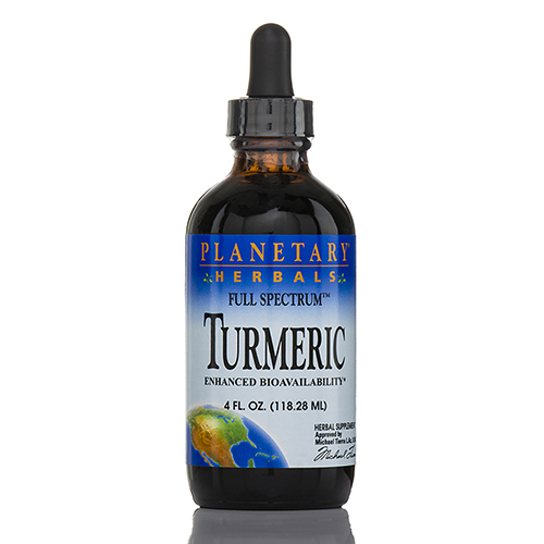 Full Spectrum Turmeric Liquid - 4 fl. oz (118.28 ml) by Planetary Herbals