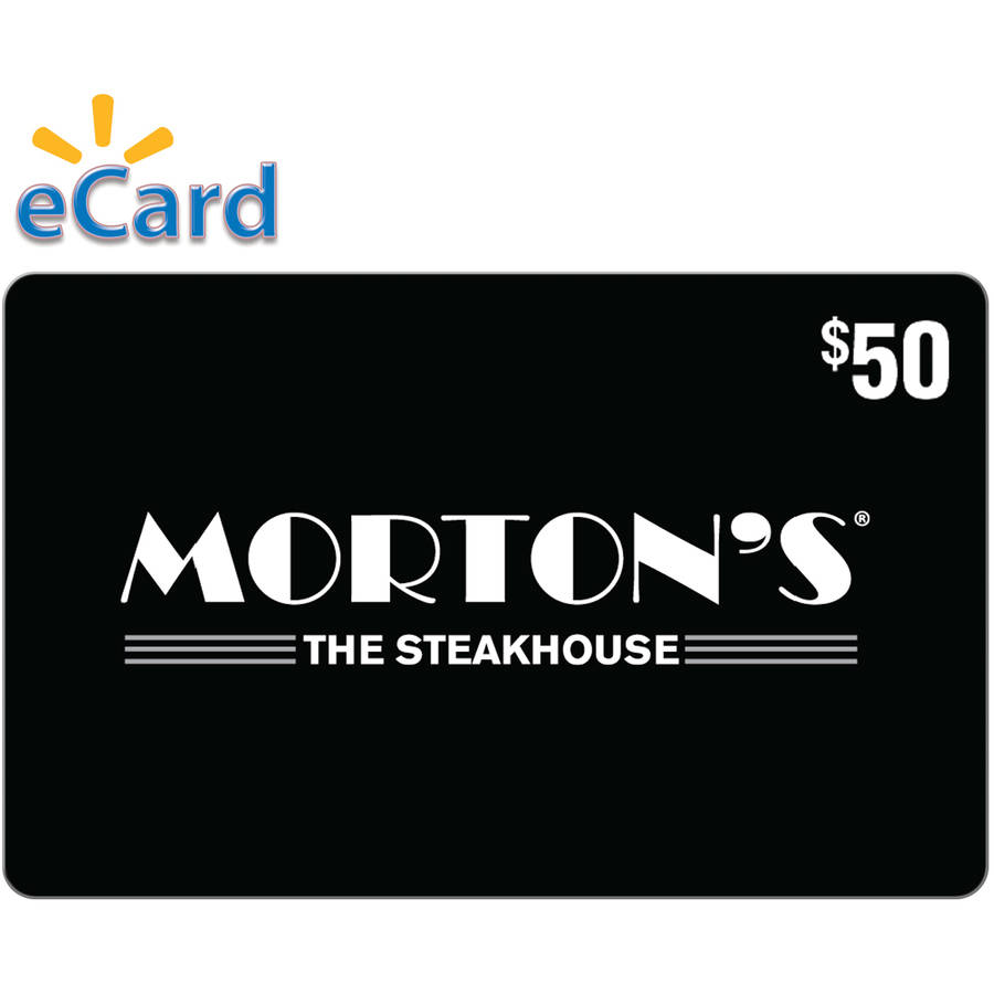 Morton's Steakhouse $50 Card (Email Delivery)