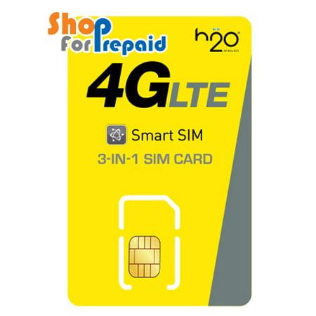 H2O Nano SIM Card Starter Kit