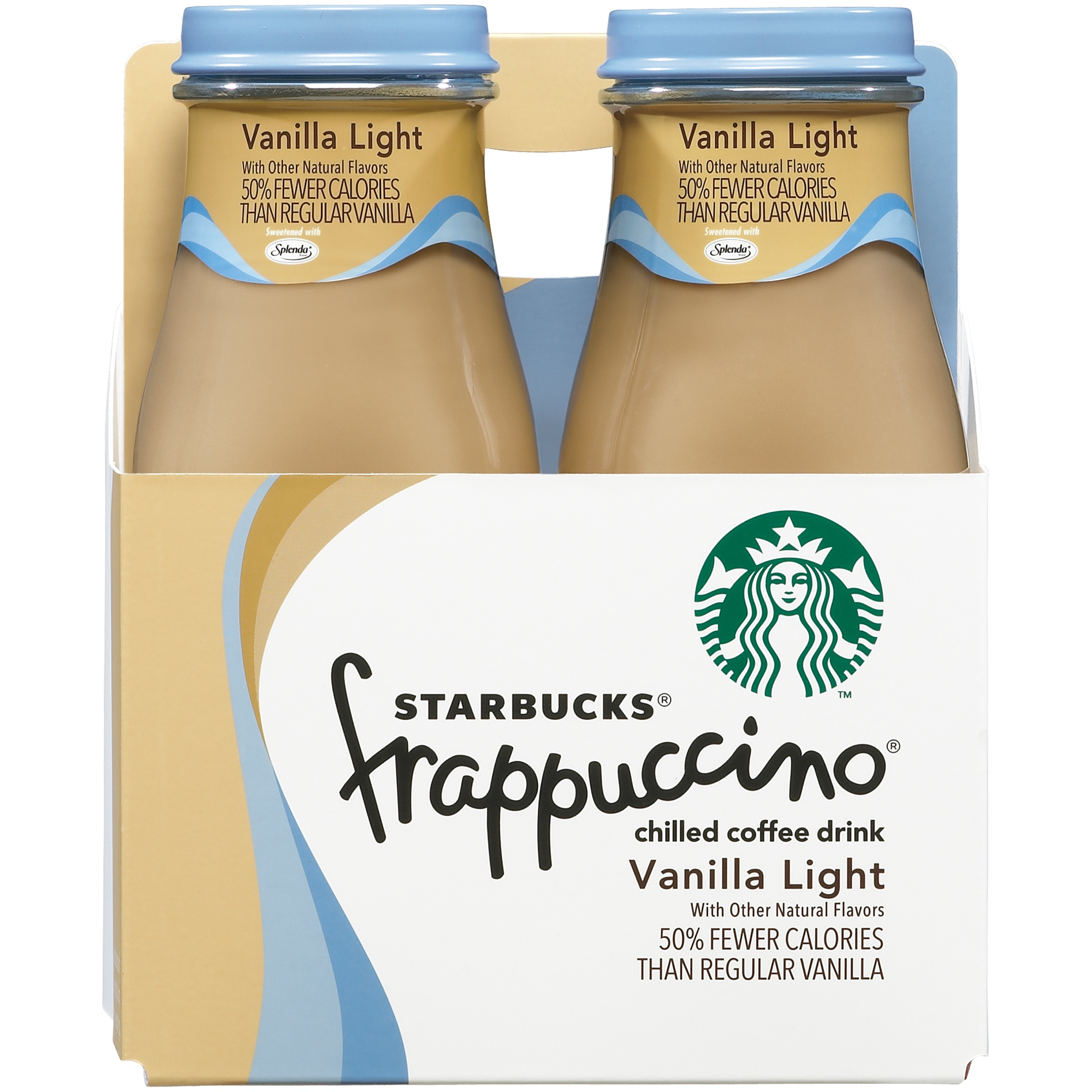 Starbucks Frappuccino Coffee Drink, Vanilla Light, 9.5 Fl Oz, 4 Count