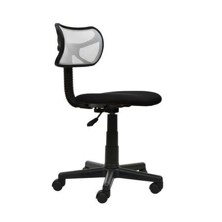 Scranton & Co Mesh Task Office Chair in White - image 9 of 9