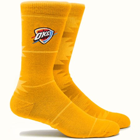 Oklahoma City Thunder Geo Crew Socks