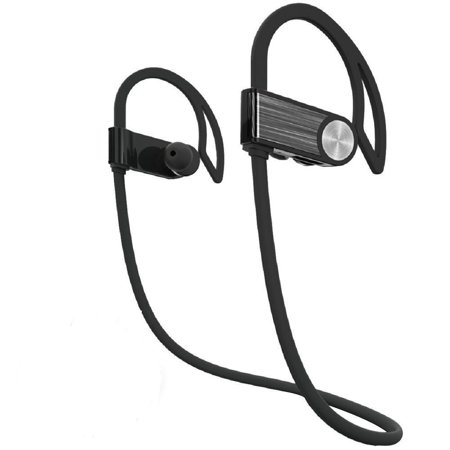 STOGA Cozypony Touch Button Bluetooth Sport Earphones Wireless Bluetooth Stereo Headphones with 6 Hour Playtime and CVC 6.0 Noise Cancellation, Shockproof and Sweatproof for Running, Workout, Gym