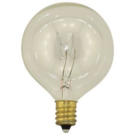 Replacement for SATCO 40W G16+ -130V replacement light bulb lamp