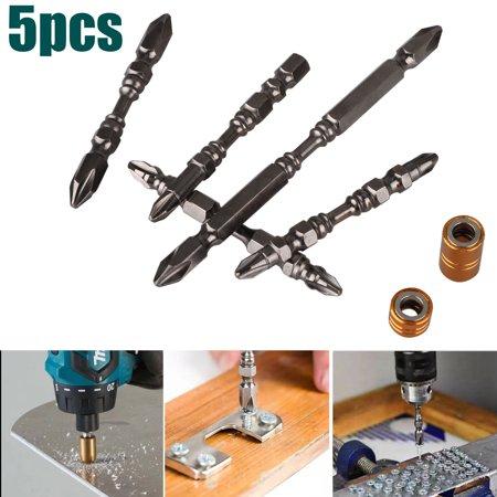 EEEkit 5PCS 1 4 Inch Precision Screwdriver Set Super Magnetic Driver D