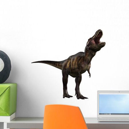 T-rex Crying Wall Mural by Wallmonkeys Peel and Stick Graphic (18 in H x 18 in W) WM193348 ()
