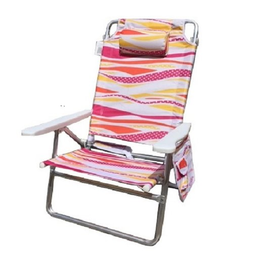 Mid-America Outdoor Supply Pure Weather Deluxe 5-Position Beach Chair