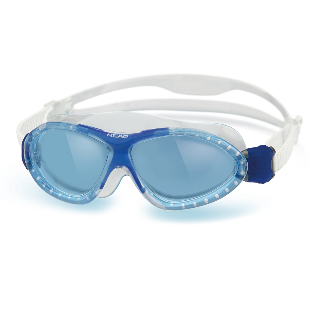 Head Monster Jr Kid's Swim Goggle Clear Blue Blue by Head