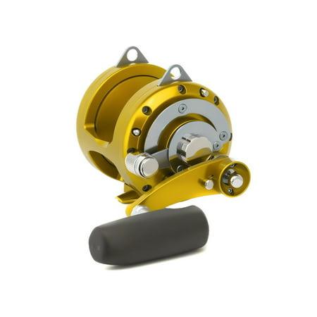 (Avet 2-Speed Reel Right Hand Gold, EXW30/2RH-GD)
