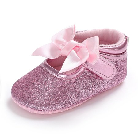 C431 Kids Princess Windy Butterfly Knot Soft-soled Walking Shoes Kids Shoes - image 5 of 8