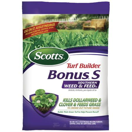 Scotts Turf Builder Bonus S Southern Weed & Feed Florida Fertilizer 10,000 Sq.