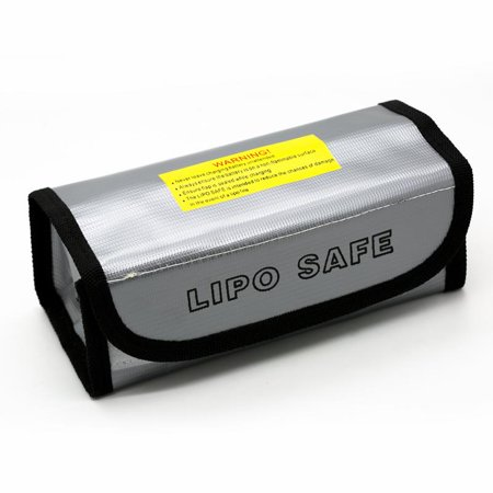 Lipo Battery Safe Bag Guard Fireproof Explosionproof Sack For Charge &Storage