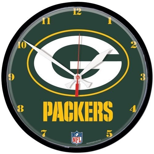 "Green Bay Packers G"" Logo Wall Clock"""