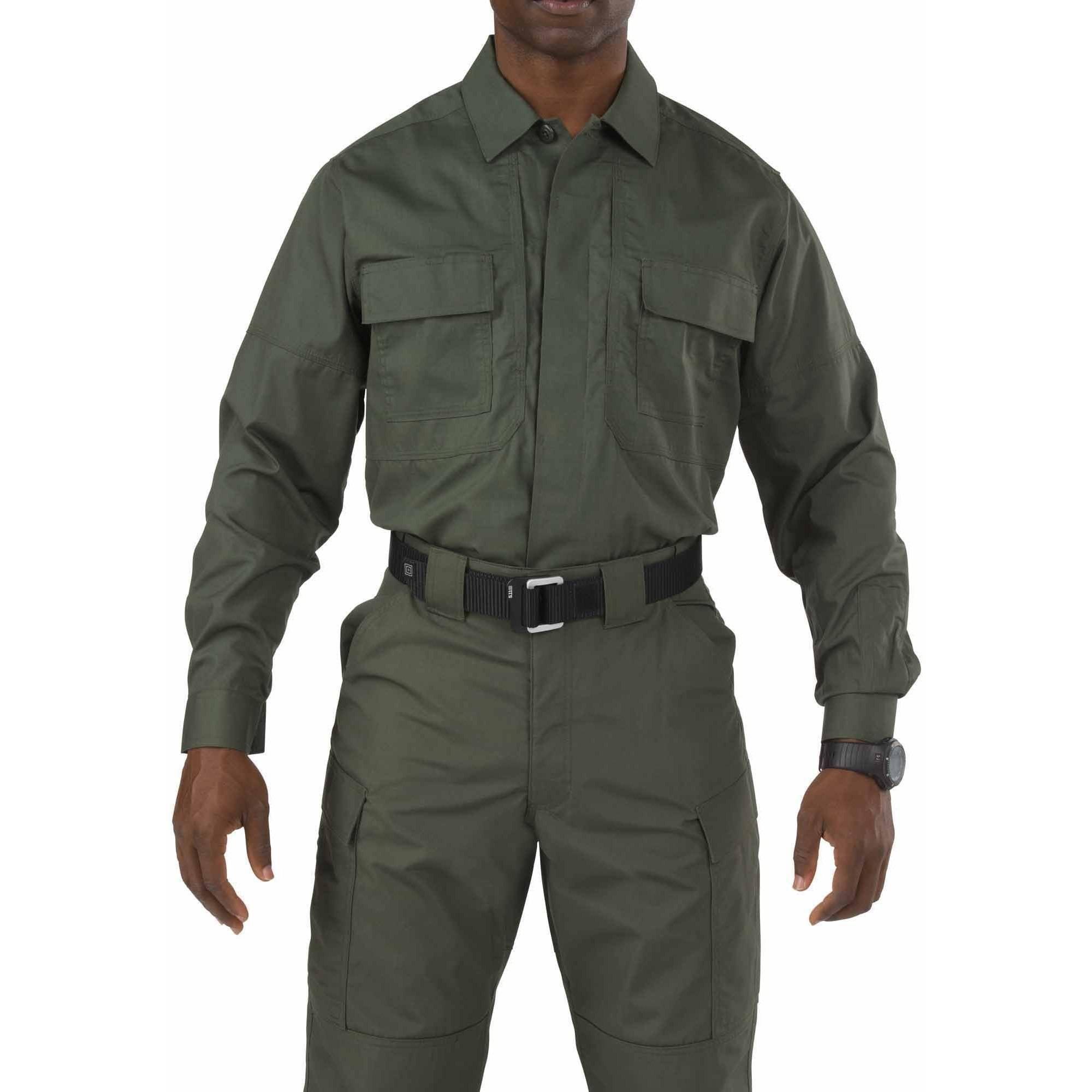 TacLite TDU Long Sleeve Shirt, TDU Green