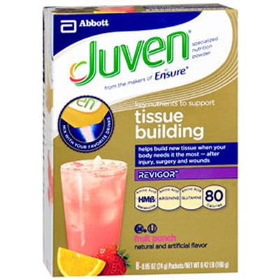 Juven Fruit Punch Arginine / Glutamine Supplement Powder