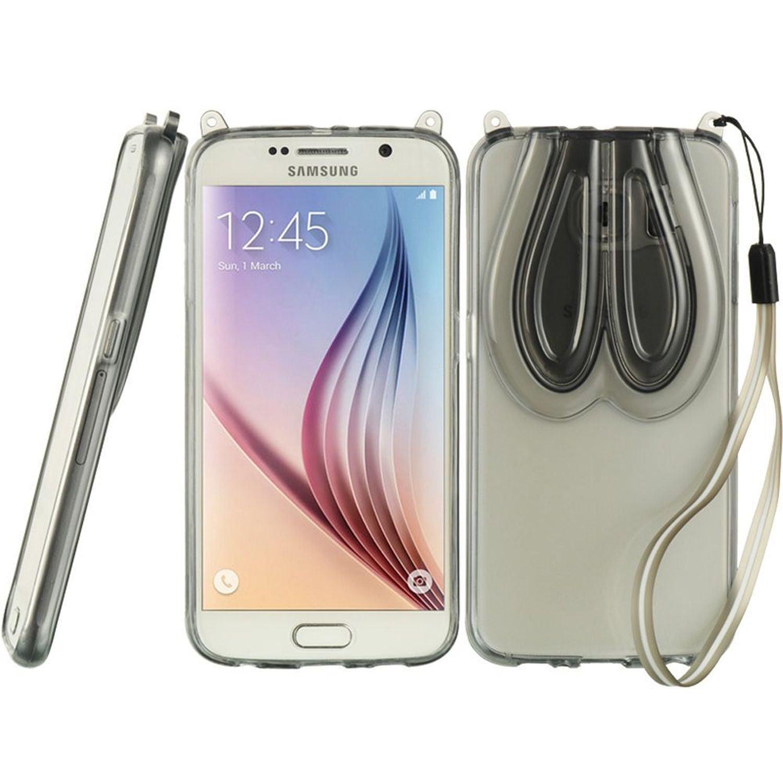 Insten 3D TPU Gel Case Cover For Samsung Galaxy S6 SM-G920, Smoke