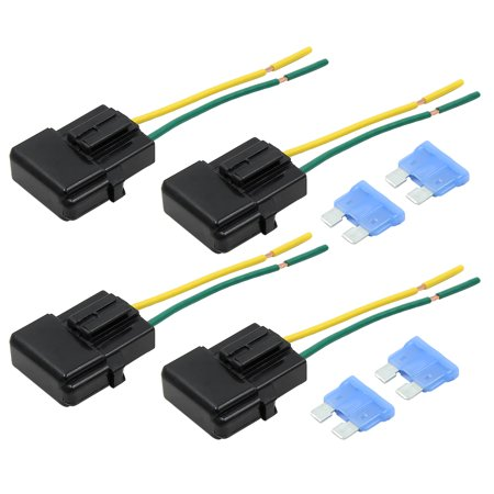 4pcs DC 32V Wire Fuse Holder Box w 15a Style Fuse for Car - image 6 of 6