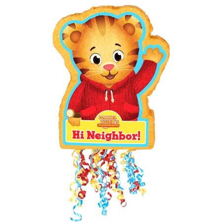 Daniel Tiger's Neighborhood Pull-String Pinata](Daniel The Tiger Birthday Party)
