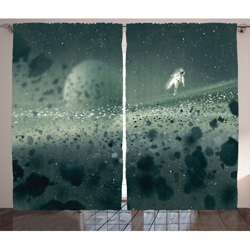 Run East Urban Home Moon Journey Decor Graphic Print Room...