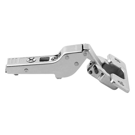 110 Degree Half Cranked Clip Top Overlay Screw-On Self Closing Cabinet -