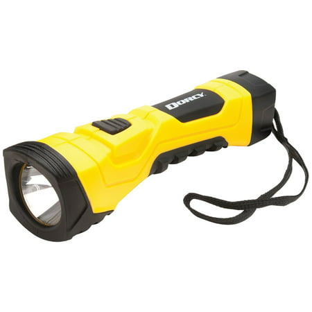 - Dorcy 190-Lumen CyberLight Durable LED Flashlight with True Spot Reflector, Yellow