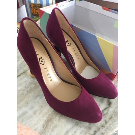 Katy Perry 5.5 Heels Purple Grape Suede