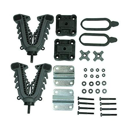 Best Custom Fit V-grip Single Rider Gun/Bow/Tool Rack by ATV Tek