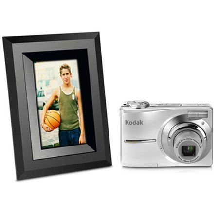 Kodak Easyshare C613 Silver Camera and SV710 Frame Bundle ~ includes ...