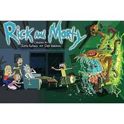 Rick and Morty 36x24 Animated Cartoon TV Art Print Poster animated science fiction comedy Adult Swim