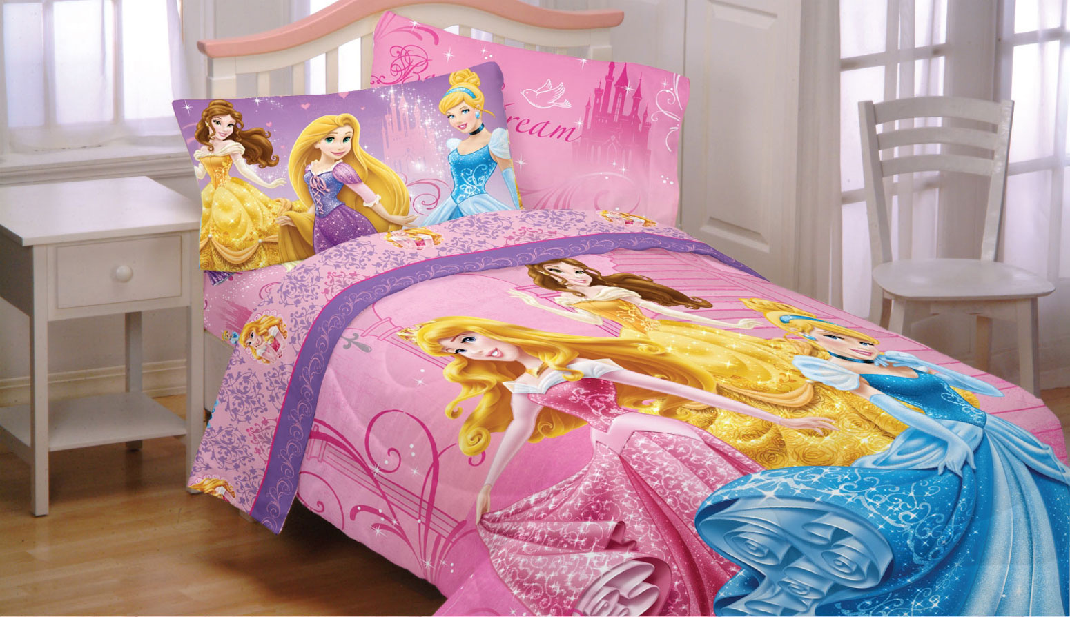 Design Princess Bedding princess bedding set full my family fun jeweled garden disney princesses glamour comforter sheets