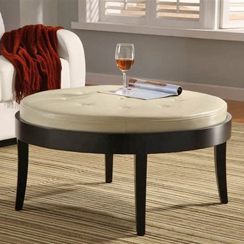 Citation Coffee Table Ottoman with Removable Cushion