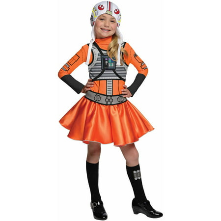 Star Wars X-Wing Fighter Tutu Child Halloween Dress Up / Role Play (Womens Role In The Mexican American War)