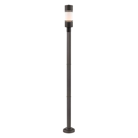 - Z-Lite 567P Outdoor LED Post Mounted Fixture
