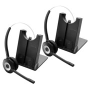 Jabra PRO 925 Dual Connectivity Mono Wireless Headset w/ Noise-Canceling Microphone (2-Pack)