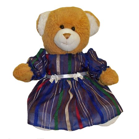 Stuffed Animals Blue Dress Doll Clothes