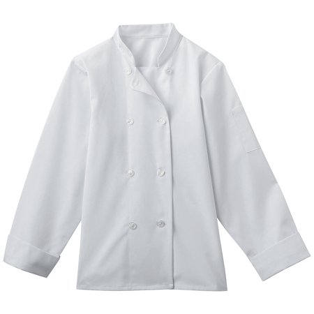 8 Button Chef Coat - Five Star Women's 8 Button Chef Jacket