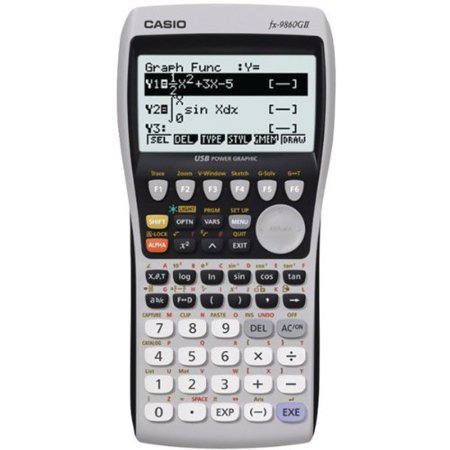 Casio Fx 9860Gii L Ih Advanced Graphing Calculator  Fx9860giilih