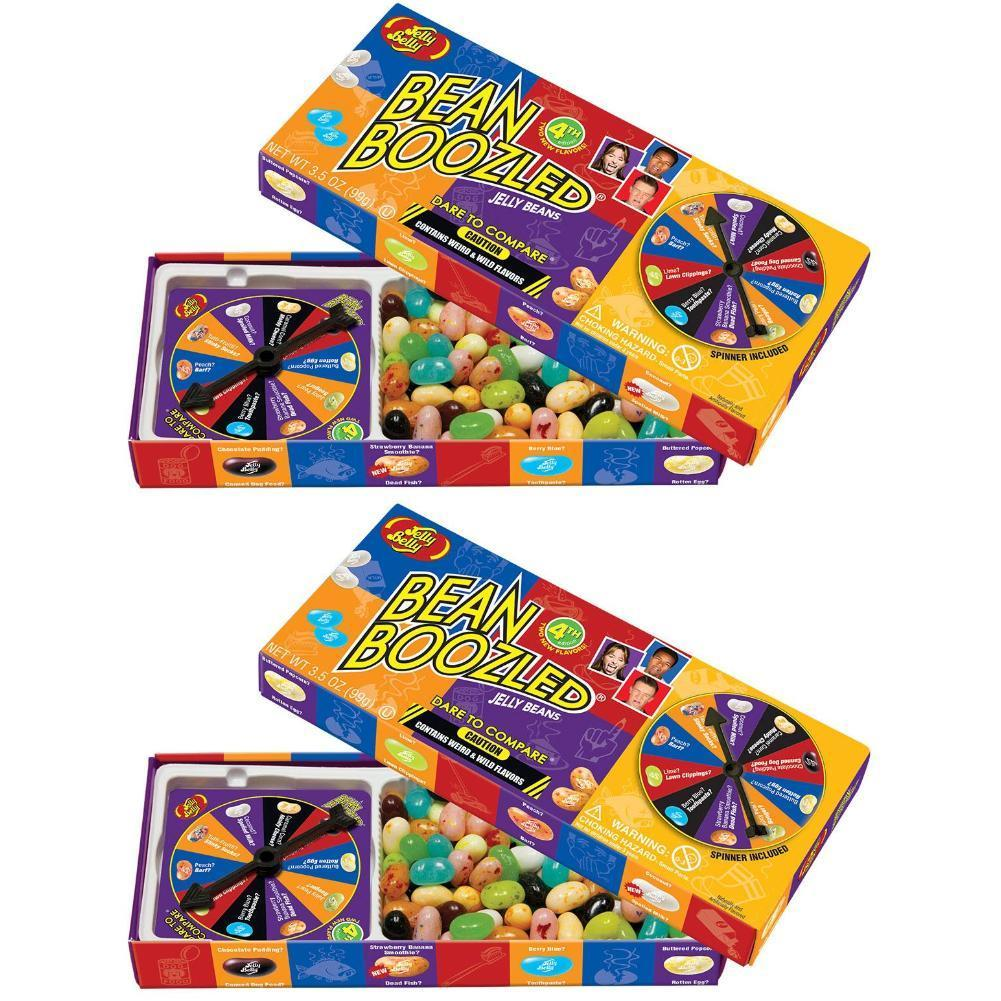 Jelly Belly BeanBoozled Spinner Jelly Bean Gift Box 2 PACK,3.5 oz by Jelly Belly