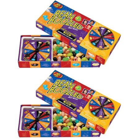 Jelly Belly BeanBoozled Spinner Jelly Bean Gift Box - 2 PACK,3.5 oz - Bean Boozeled
