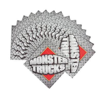 In 70 5927 Monster Trucks Beverage Napkins 16 Set S
