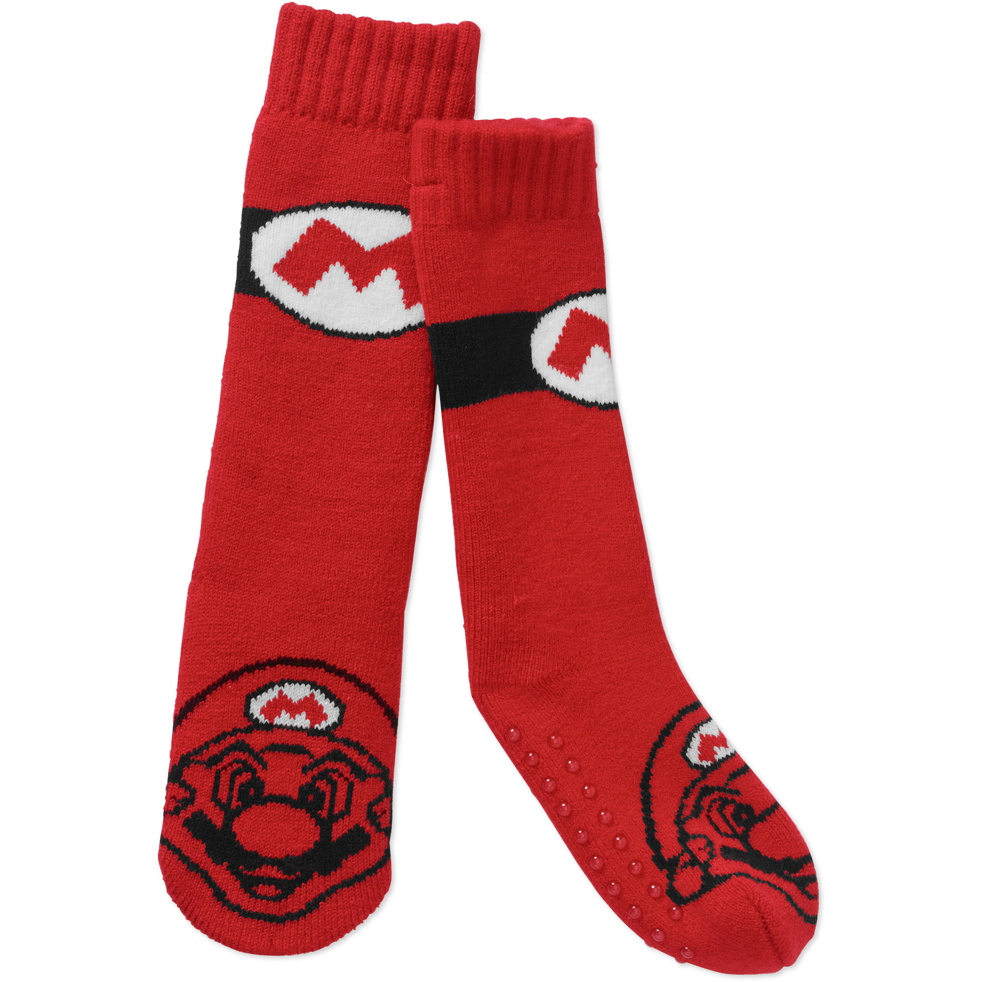 Super Mario Boys Slipper Socks 1 Pack Walmart