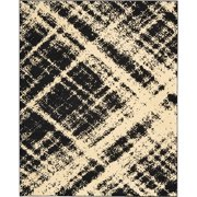 Nourison Grafix Cream Black Area Rug